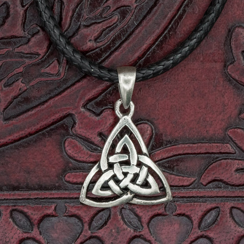 Small Sterling Silver Trinity Knot (Triquetra)