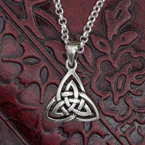 You added Small Sterling Silver Trinity Knot (Triquetra) to your cart.