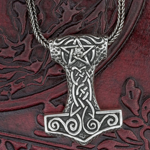 You added Sterling Silver Thor's Hammer (Mjölnir) to your cart.