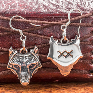 You added Stainless Steel Fenrir Earrings to your cart.