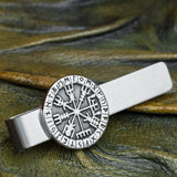 Vegvisir Cufflinks and Tie Clip Set
