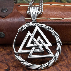 You added Jörmungandr Valknut Pendant and chain to your cart.