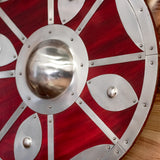 Round Shield with Steel Fittings