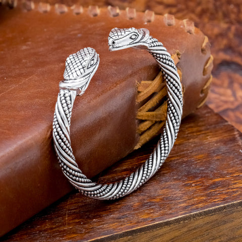 small serpent arm ring viking