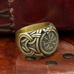 You added Bronze Jormungandr Vegvisir Ring to your cart.