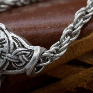 You added Thor's Hammer with Vegvisir and Goats on Chain to your cart.