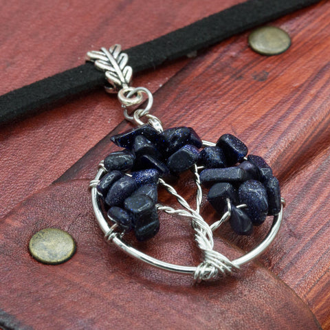 tree of life Yggdrasill viking choker hand made