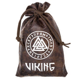 Valknut and Runes Pouch