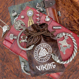 Valknut and Runes Pouch viking