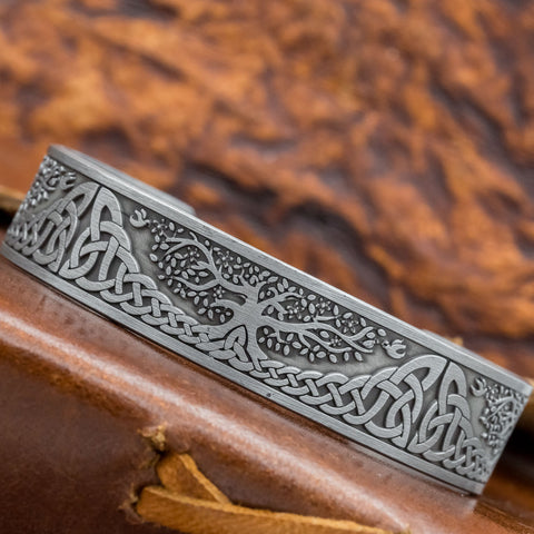 Yggdrasill (Tree of Life) Bangle viking