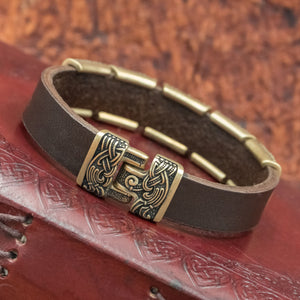 You added Bronze Mammen Charm Leather Cuff to your cart.