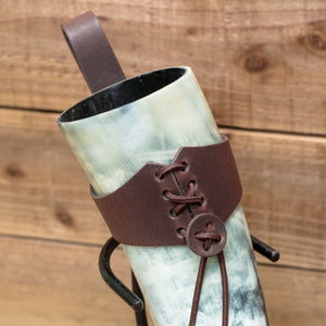You added 2 piece Set Drinking Horn (Regular) Brown Holder to your cart.