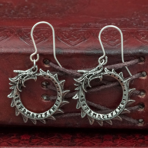Jormungand Earrings