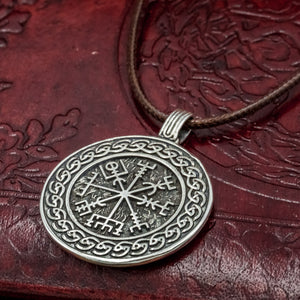You added Sterling Silver Vegvisir Amulet with Knotwork to your cart.
