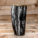 skullvikings norse larp larping game of thrones hand made gold brass rim cup uk