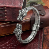 Fenrir (Wolf Head) Arm Ring