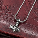 Small Thor's Hammer (Mjölnir) on Snake Chain