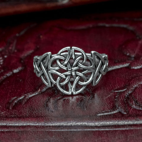 925 Sterling Silver Knotwork Ring (made to order)