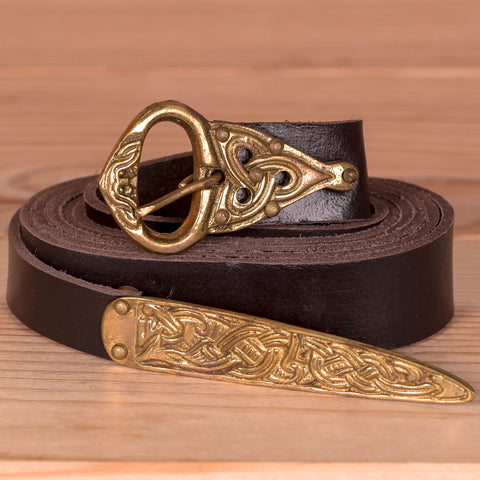Viking Leather Belt