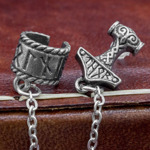 You added Thor's Hammer and Runes Cuff Stud to your cart.