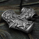Silver Plated Thor's Hammer