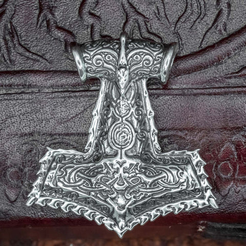 925 Sterling Silver Thor's Hammer