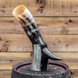 Drinking Horn (Regular) with Horn Stand
