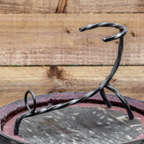 Viking Hand Forged Iron Horn Stand (Regular)