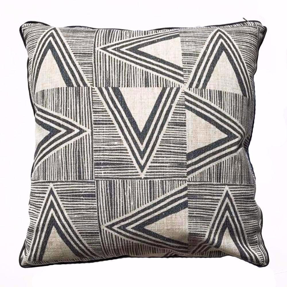 designer gray cotton pillows included core throw pillow modern p not couch colorful