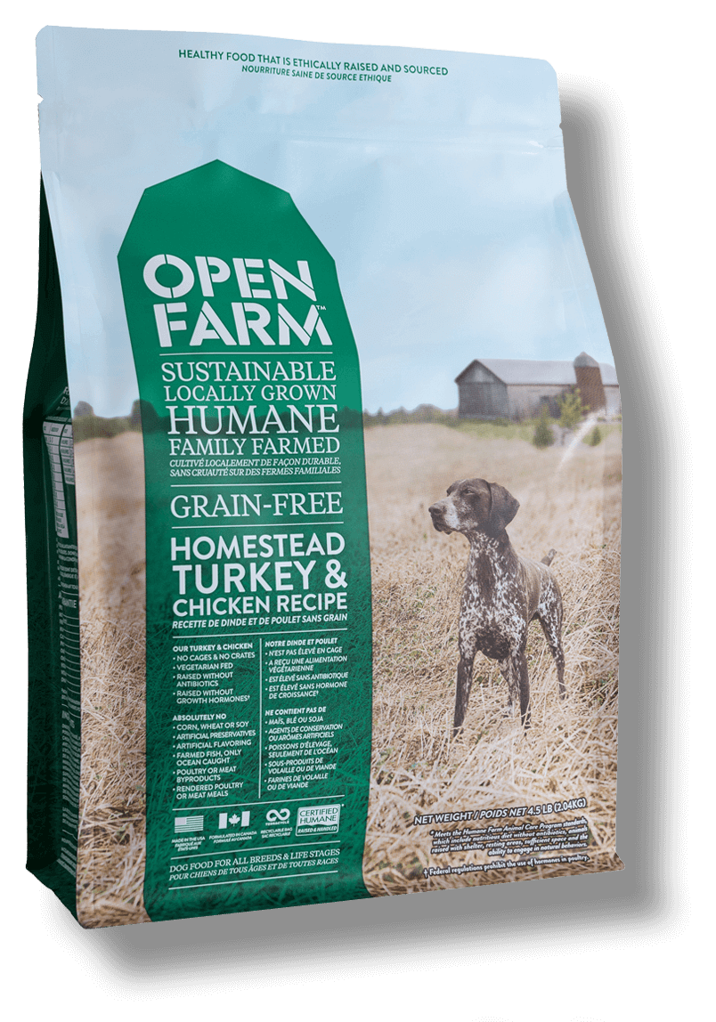 Open Farm Grain Free Homestead Turkey & Chicken Recipe
