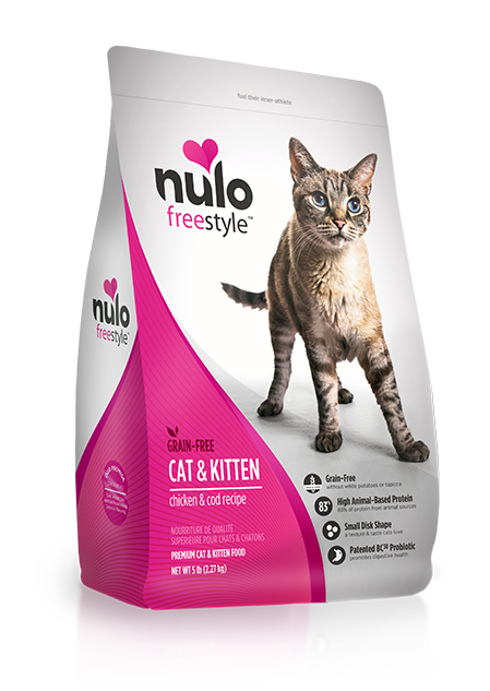 Nulo Grain Free Cat & Kitten Chicken & Cod Recipe