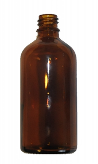 100 ml Amber brown glass bottle