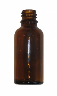 30 ml Amber brown glass bottle