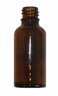 50 ml Amber brown glass bottle