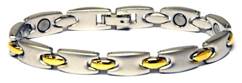 Magnetic bracelet made from alloy steel