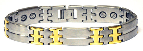 Magnetic bracelet made from stainless steel