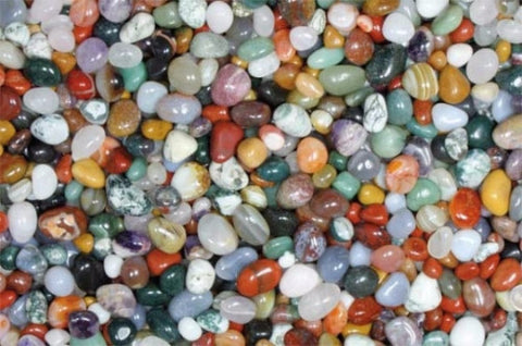 Gemstone mix small - 1 kg