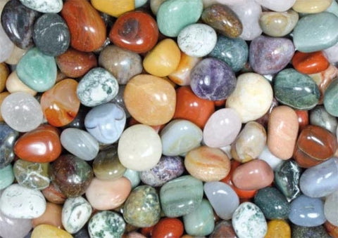 Gemstone mix large - 1 kg