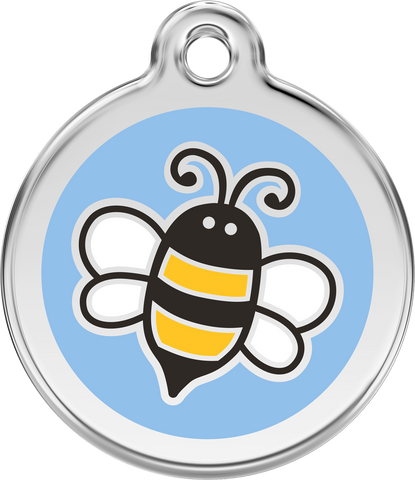 Red Dingo Enamel Dog Tag - Bumblebee