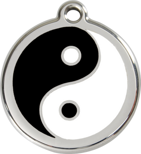 "Red Dingo ""Ying & Yang"" Enamel Dog Tag"