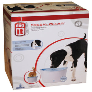 Dogit Fresh & Clear Drinking Fountain Blue 6l - Pica's Pets