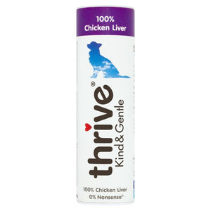 Thrive Kind & Gentle 100% Chicken Liver Dog Treats 25g