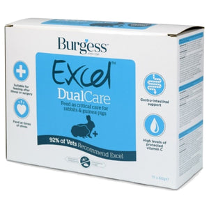 Burgess Excel Dualcare Recovery Diet (10 x 60g Sachets)