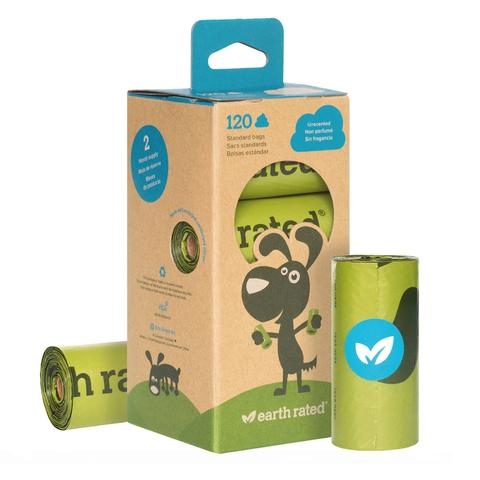 Earth Rated Dog Waste Bags - 120 bags - Pica's Pets