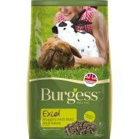 Burgess Excel Adult Rabbit Nuggets with Mint - Pica's Pets