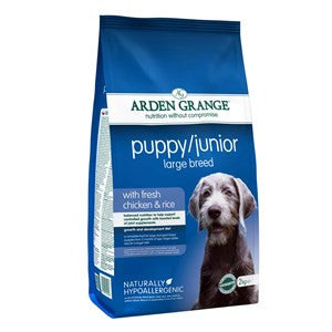 Arden Grange Chicken Puppy/Junior Large Breed Dog Food - Pica's Pets
