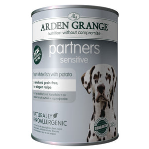 Arden Grange Partners Adult Sensitive Fresh White Fish With Potato