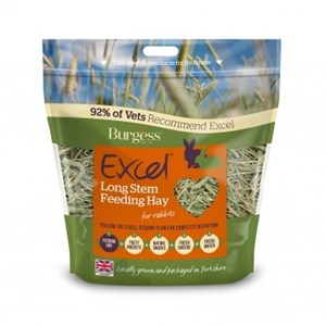 Burgess Excel Long Stem Feeding Hay 1kg - Pica's Pets