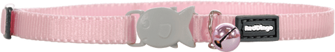 Red Dingo Kitten Collar - Pale Pink