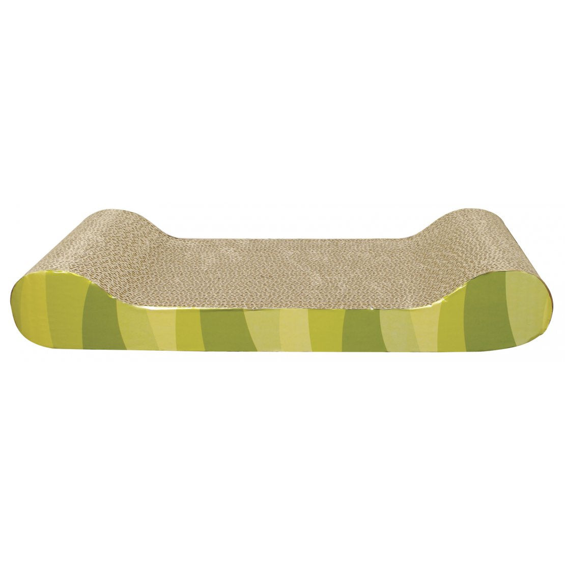 Catit Patterned Scratching Board With Catnip Lounge Design - Pica's Pets
